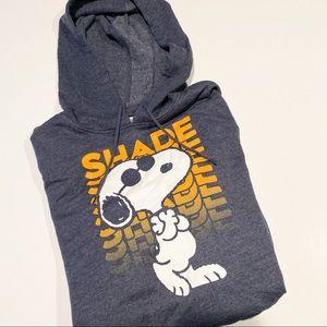 NWT Snoopy Shade hooded sweatshirt